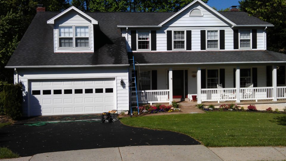 Residential Power Wash service in Virginia and Metro DC area