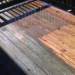 Help your deck shine in the sun again!.